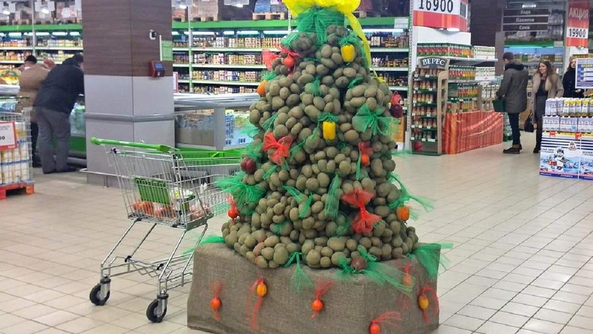 """Новогодние """"аграрные елки"""": фото, которые вас удивят"""