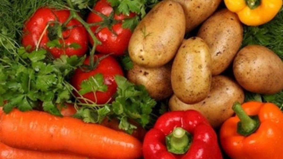 Украинские овощи