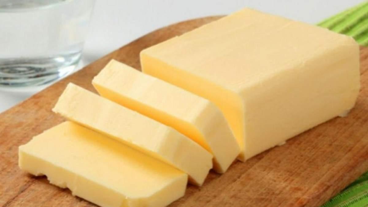 Экспорт украинского сливочного масла: показатель снизился более чем на треть