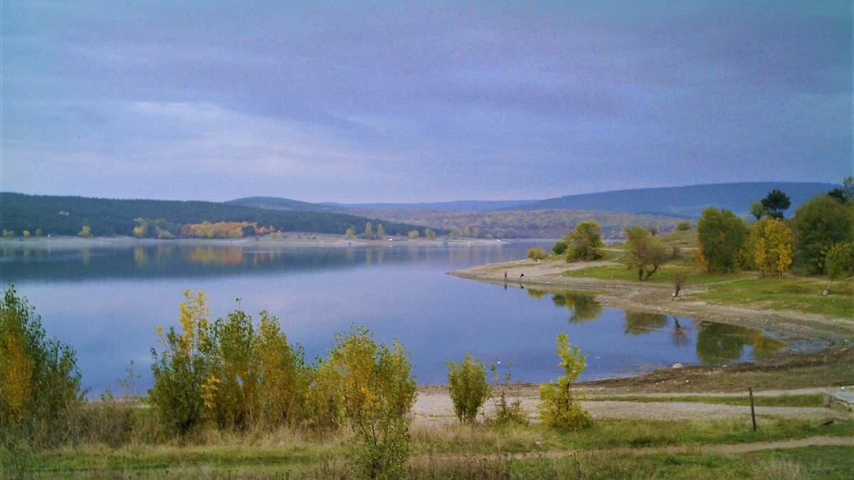 Вода Сімферополського водосховища непридатна до вживання / Фото з соцмереж