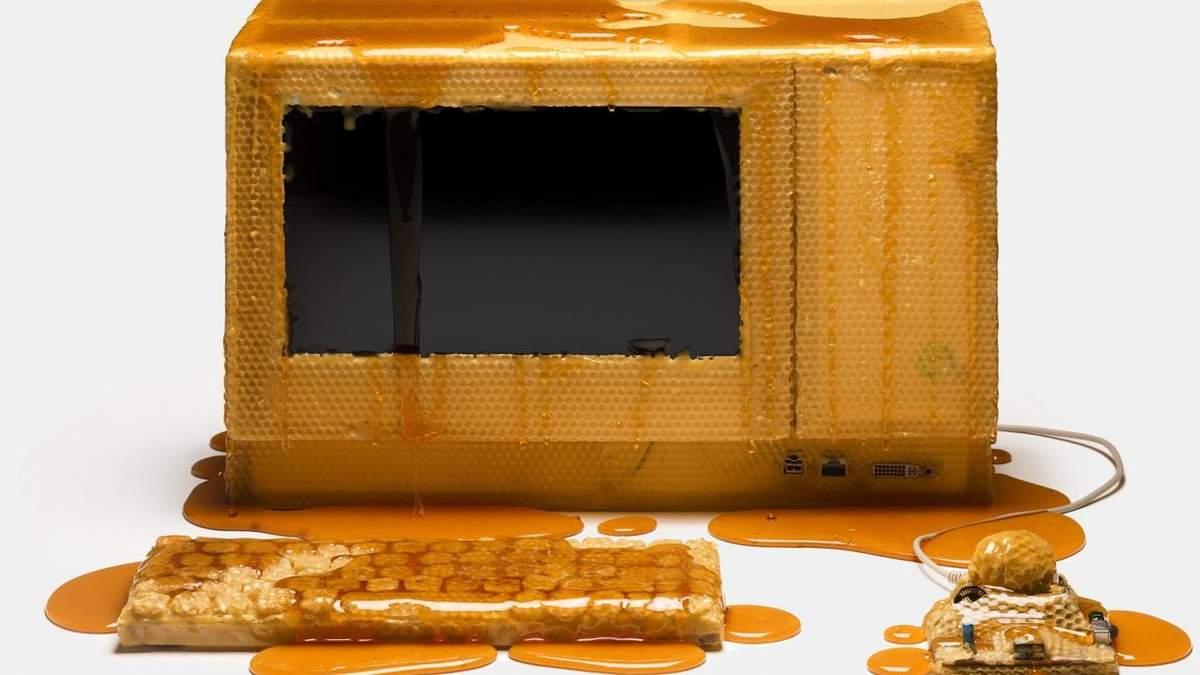 Компьютеры из меда и сала: дизайнеры создали невероятные устройства – фото