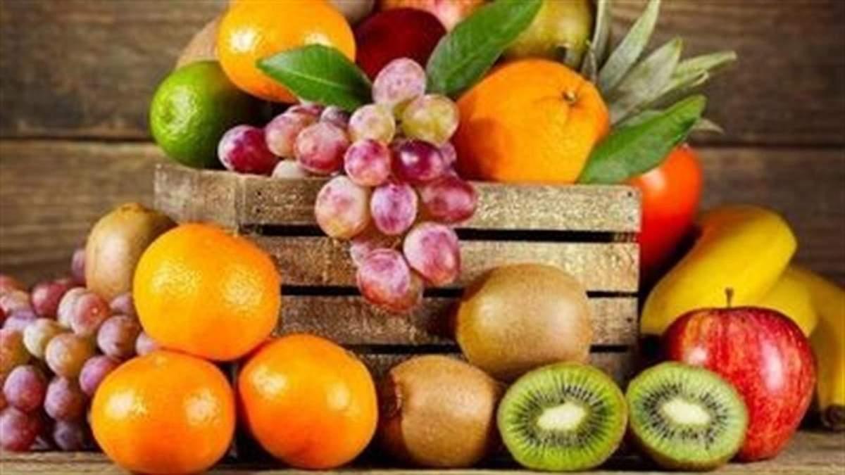 Вміст цукру у фруктах