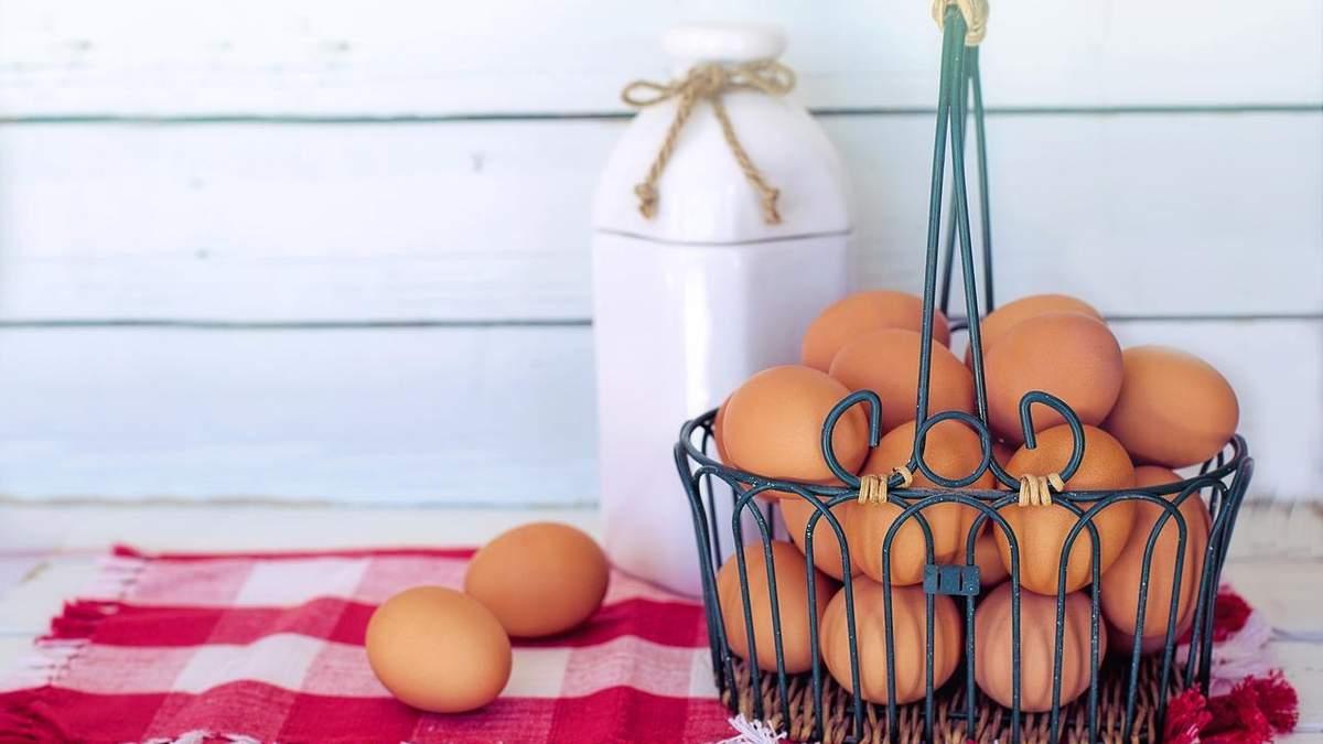 Экспорт украинских яиц значительно сократился