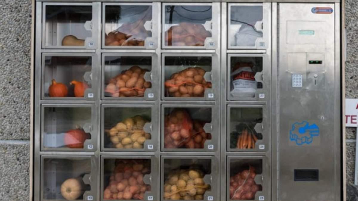 Автомати з продажу продукції –хороше рішення для фермерів