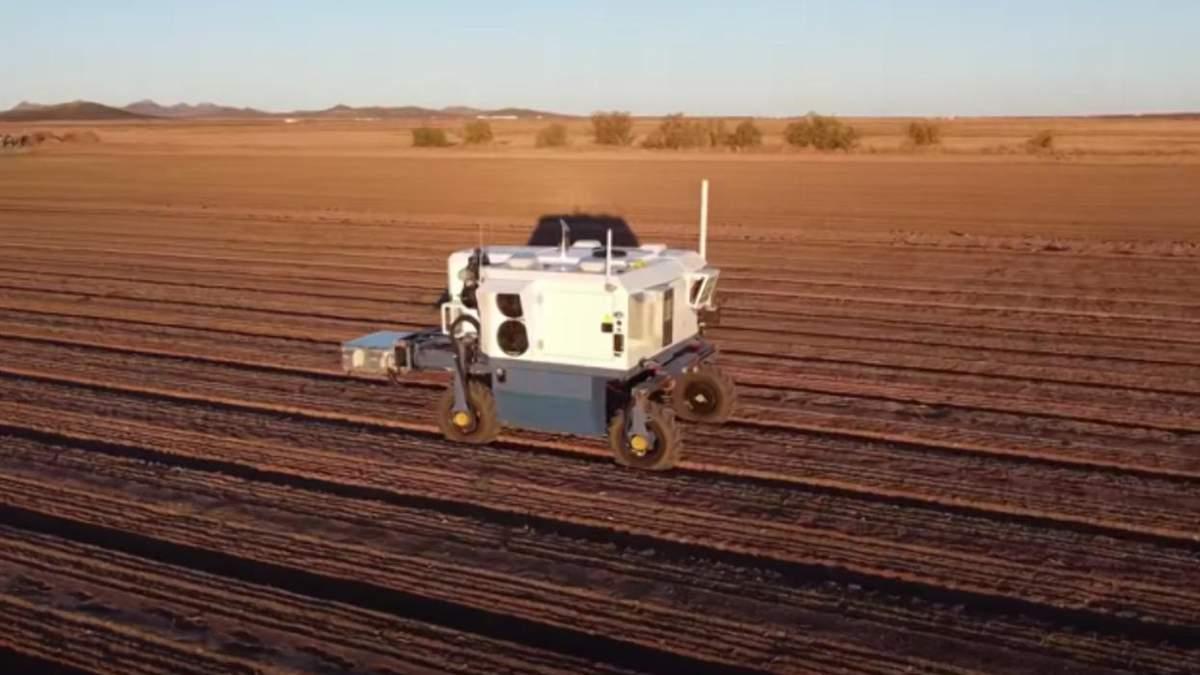 Ворог бур'янів: у США створили робота, який чистить поля від зайвих рослин