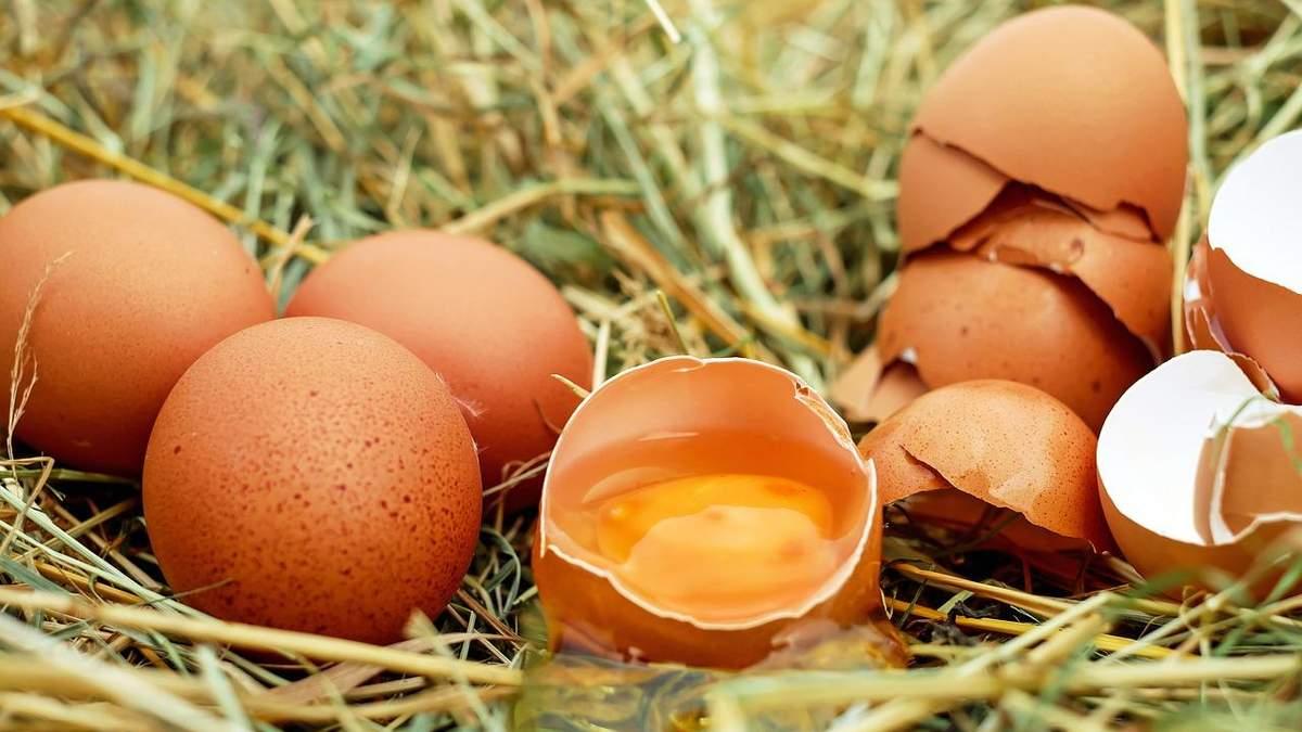 Яйца в Украине упали в цене