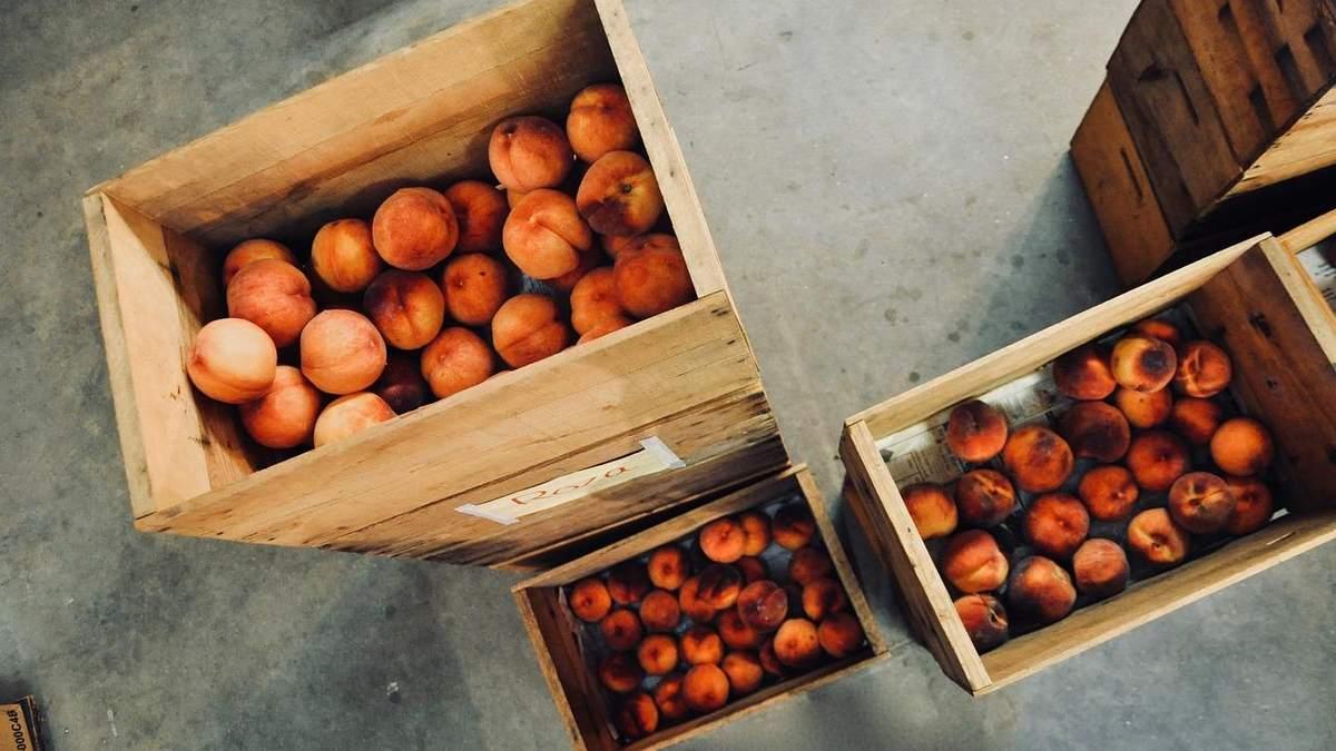 Дефіцит персиків: урожай кісточкових в Європі буде найменшим за останні 30 років