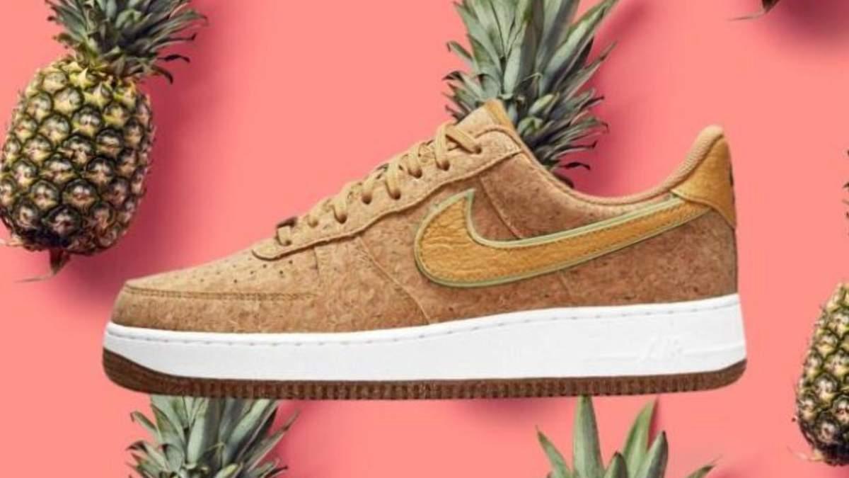 Ананас для обуви: известный бренд Nike делает кроссовки с кожи фрукта