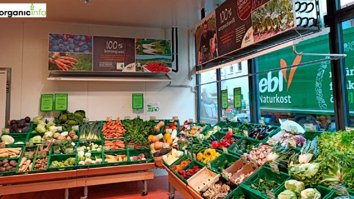 Органічні продукти завойовують світ