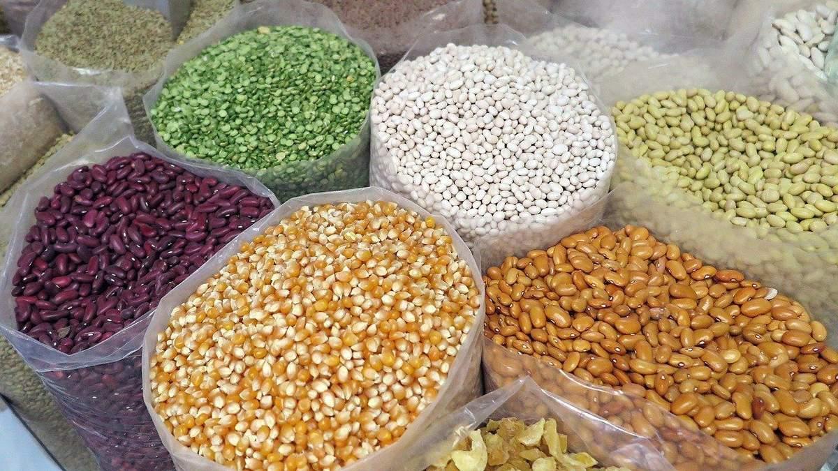 Зернобобові – корисні продукти