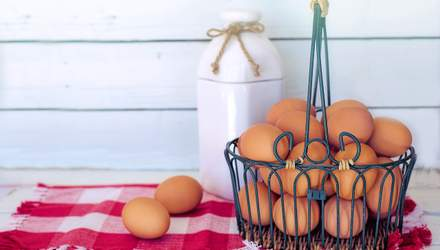 Украина резко обрушила экспорт яиц