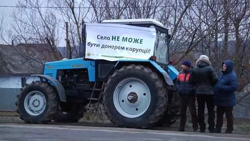 Нас обікрали приблизно на 16 мільйонів гривень, – українські аграрії зібрались на віче