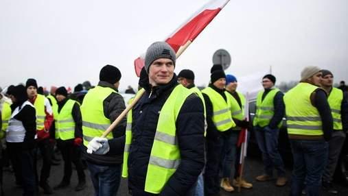 """""""Жовті жилети"""" почали протести у Польщі: відомі вимоги активістів"""