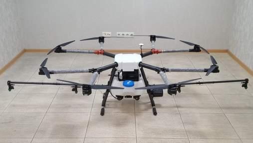 Летающий трактор: в Украине создали уникальный дрон для аграриев