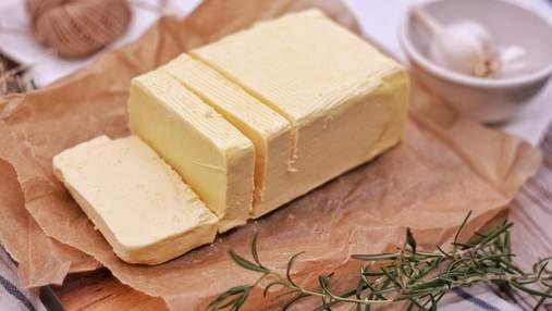 Украина увеличила импорт масла из Беларуси