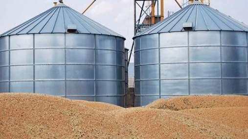 Украина теряет до 30% урожая зерна из-за проблем с элеваторами