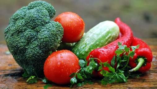 Украина продолжает наращивать импорт свежих овощей