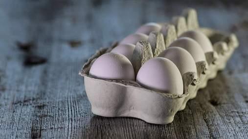 Дохід від експорту яєць скоротився вдвічі