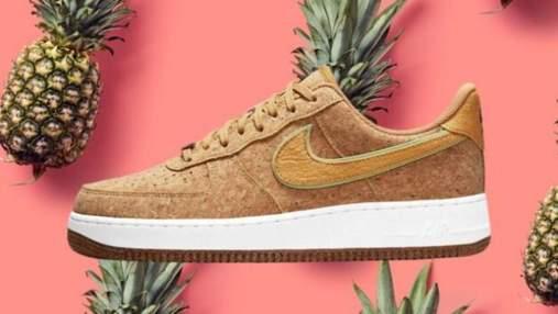 Ананас для взуття: відомий бренд Nike робить кросівки з шкіри фрукту