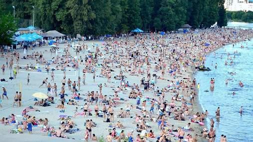 На 7 пляжах Києва виявили кишкову паличку: де небезпечно купатись