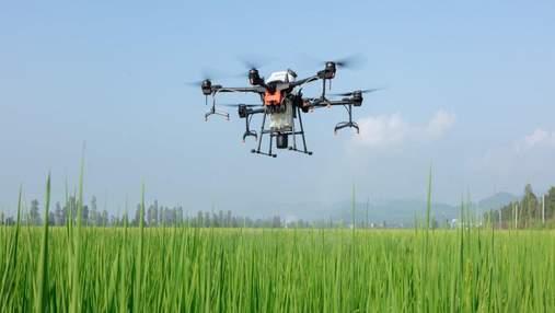 Компанія DJI запустила глобальні продажі дронів Agras T30 і T10