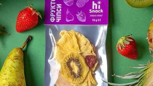 Український виробник випускатиме чипси на всі смаки