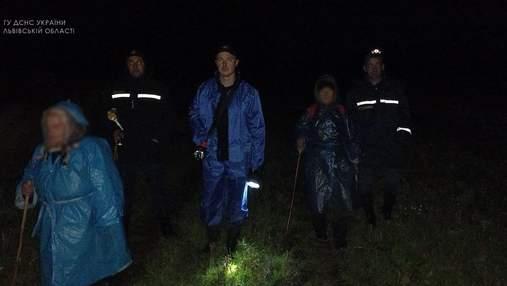 На Львівщині пенсіонерки пішли по гриби й заблукали: їх шукали разом зі службовим собакою