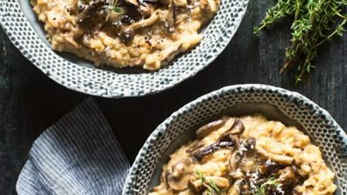 Осінній тренд: рецепт ризотто з лісовими грибами