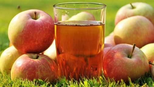 Украина увеличила производство яблочного сока